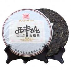2011, Сибаньшань, древние деревья, 357 г/блин, шэн, ч/ф Суйюэ Чживэй