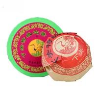 2013, Красная шкатулка, 100 г/коробка, шэн, ч/ф Сягуань