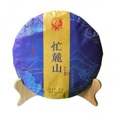 2019, Манлушань (Линьцан), 357 г/блин, шэн, ч/ф Сягуань