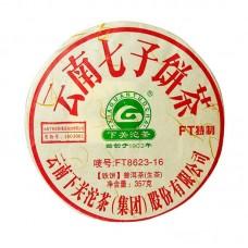 2016, FT8623, 357 г/блин, шэн, ч/ф Сягуань