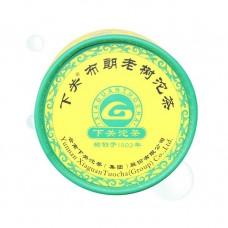 2011, Буланшань лаошу, 100 г/коробка, шэн, ч/ф Сягуань