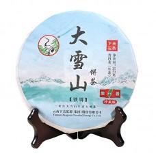 2017, FT Дасюэшань (коллекционник), 357 г/блин, шэн, ч/ф Сягуань
