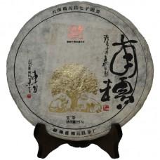 2015, Каллиграфия, 357 г/блин, шэн, ч/ф Фуюань Чан
