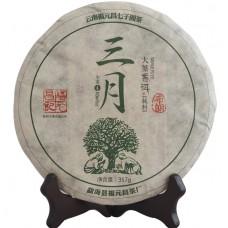 2015, Буланшань. Весенний чай, 357 г/блин, шэн, ч/ф Фуюань Чан