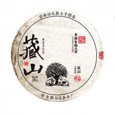 "2018, Лао Баньчжан, серия ""Тибет"", 200 г/блин, шэн, ч/ф Фуюань Чан"