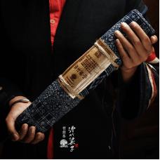 2018, дер. Хуачжу Лянцзы (Мэнсун, народность Лахуцзу), 500 г/шт, шэн, ч/ф Фуюань Чан