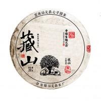 "2018, Маньсун, серия ""Тибет"", 200 г/блин, шэн, ч/ф Фуюань Чан"