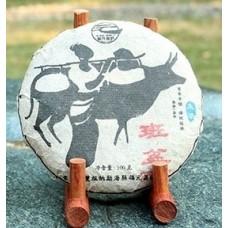 2012, дер. Баньпэн, 100 г/блин, шэн, ч/ф Фуюань Чан
