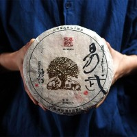 2015, Искусный каллиграф, дер. Ваньгун, 357 г/блин, шэн, ч/ф Фуюань Чан