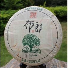2012, Древние деревья Буланшаня, 357 г/блин, шэн, ч/ф Фуюань Чан