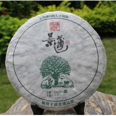 2012, Древние деревья Цзинмайшаня, 357 г/блин, шэн, ч/ф Фуюань Чан