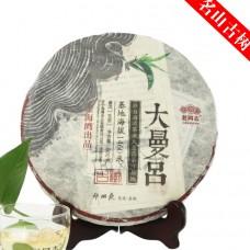 2015, дер. Даманьлюй (сев. Мэнхай), древние деревья, 500 г/блин, шэн, ч/ф Хайвань