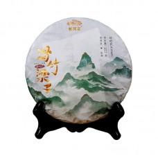2021, Хуачжу Лянцзы, 357 г/блин, шэн, ч/ф Хайвань