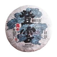 2018, Вековые деревья, 400 г/блин, шэн, ч/ф Хайвань