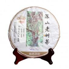 2013, Высокогорье. Старые деревья, 500 г/блин, шэн, ч/ф Хайвань