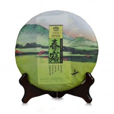 2016, Весенние росы, 400 г/блин, шэн, ч/ф Хайвань