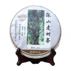 2014, Высокогорье. Старые деревья, 500 г/блин, шэн, ч/ф Хайвань