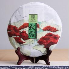 2016, Осенняя прохлада, 400 г/блин, шэн, ч/ф Хайвань