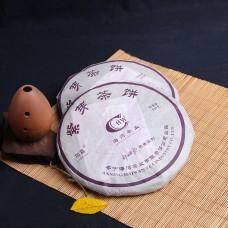 2006, Пурпурная почка, 357 г/блин, шэн, ч/ф Хайвань