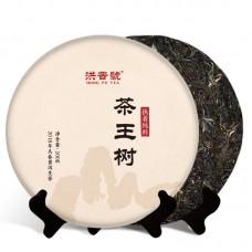 2018, Чайный исполин, дер. Махэй, 200 г/блин, шэн, ч/ф Хунпу Хао