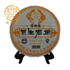 2012, Горный перевал Хэтао, 600 г/блин, шэн, ч/ф Цзюньчжун Хао