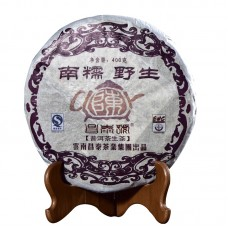 2007, Наньношань, дикорос (серия Старый чайник), 400 г/блин, шэн, ч/ф Чантай