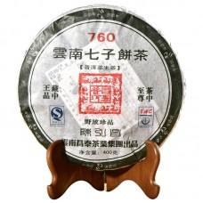 2007, 760 (серия Чэньхун Чан), 400 г/блин, шэн, ч/ф Чантай