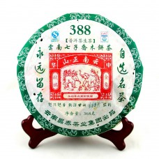 2008, 388, мастер Чжун Ханьжун, 368 г/блин, шэн, ч/ф Чантай
