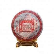 2006, 399 (мастер Чжун Ханьжун), коллекционный, 400 г/блин, шэн, ч/ф Чантай