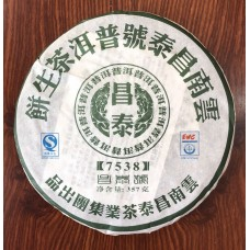 2007, 7538 (серия Чантай Хао), 357 г/блин, шэн, ч/ф Чантай