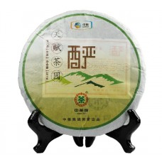2012, Чай Эдемского сада (крепкий), 357 г/блин, шэн, ч/ф Чжунча