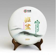 2020, Баньпэнь дашу, 357 г/блин, шэн, ч/ф Чжунча