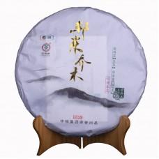 2015, Деревья Бандуна, 357 г/блин, шэн, ч/ф Чжунча