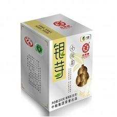 2014, Серебряная почка, 200 г/коробка, шэн, ч/ф Чжунча