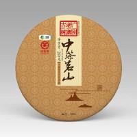 2017, Гуанбие лаочжай, 260 г/блин, шэн, ч/ф Чжунча