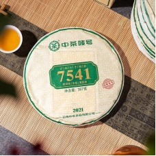 2021, 7541, 357 г/блин, шэн, ч/ф Чжунча