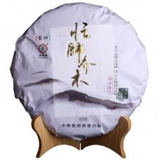 2015, Манфейские деревья, 357 г/блин, шэн, ч/ф Чжунча