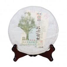 2017, Одинокое дерево в Иу, 357 г/блин, шэн, ч/ф Чжунча