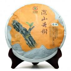 2014, Старые деревья далёких гор, 357 г/блин, шэн, ч/ф Чжунча