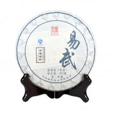 2017, Чистый Иушанец (некупажированный), 357 г/блин, шэн, ч/ф Чэньшэн Хао