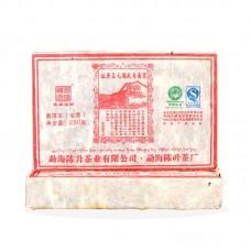 2010, Возвращение к истокам, 250 г/кирпич, шэн, ч/ф Чэньшэн Хао