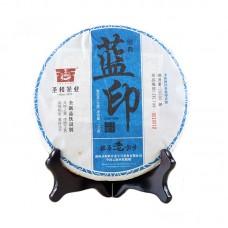 2014, Синяя печать, 357 г/блин, шэн, ч/ф Шэнхэ