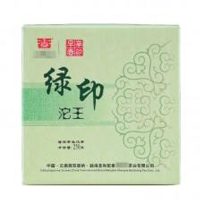 2012, Зелёная печать, 250 г/точа, шэн, ч/ф Шэнхэ