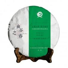 2018, дер. Югу, Весенний чай, 100 г/блин, шэн, ч/ф Юньчжан