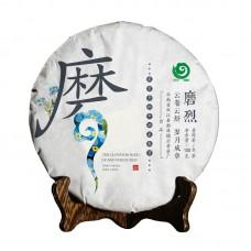 2018, дер. Моле (磨烈) Юная поросль чая, 100 г/блин, шэн, ч/ф Юньчжан