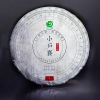 2020, Сяохусай, Шуанцзян Мэнку, 1750 м, 100 г/блин, шэн, ч/ф Юньчжан
