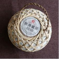 2017, Котомка Дракона, 950 г/упаковка, шэн, ч/ф Юньчжан