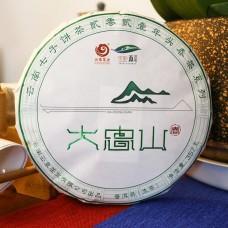 2021, дер. Дачжуншань, 357 г/блин, шэн, ч/ф Юньчжан