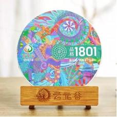 2019, 1801, новый стандарт, 180 г/блин, шэн, ч/ф Юньюаньгу