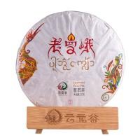 2017, Реликвия Лаоманьэ, подарочный вариант, 357 г/блин, шэн, ч/ф Юньюаньгу